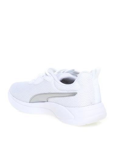 Puma Puma Beyaz - Gümüş Koşu Ayakkabısı Beyaz